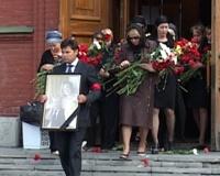В Челябинске простились с супругами Середкиными