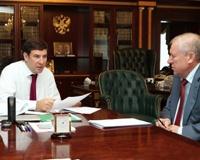 Тефтелев доложил Юревичу о «дорожной революции» и борьбе с засухой