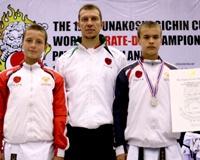 Челябинец выиграл серебряную медаль на World karate Championships
