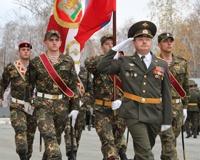 Дети поздравили солдат и офицеров 23-го отряда с Днем войск спецназа
