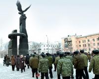 На Аллее Славы в Челябинске почтили память погибших в Афганистане