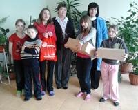 «Радио-Континенталь» дарит новогодние подарки детям