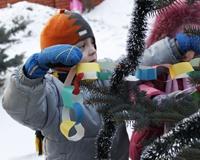 Малыши из приемных семей сняли новогодний мультик