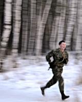 Челябинский спецназ встречает Рождество марш-броском