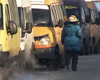Водители маршрутных такси устроили забастовку в Челябинске