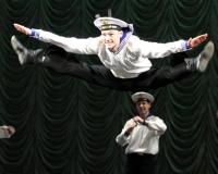 Перед челябинскими военными выступил знаменитый ансамбль Российской армии