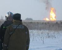 В Каслинском районе ликвидируют прорыв газопровода