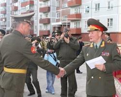 Озерская дивизия Внутренних войск МВД получила первый 90-квартирный дом