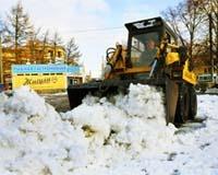 Администрация Челябинска: дороги расчищают 120 единиц коммунальной техники