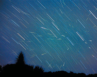Кубанцы увидят метеоритный дождь