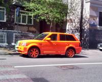 Определен самый популярный в 2011 году цвет автомобиля