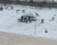 Мужчину госпитализировали после катания на спуске площади Славы