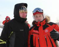 Сергей Вахруков вышел на лыжню