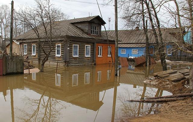 Ярославская область на пике паводка