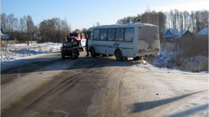 В ДТП пострадали пассажиры маршрутки