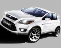 Ford презентует обновленный кроссовер Kuga