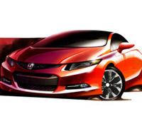 Honda Civic Concept выйдет в серию уже весной