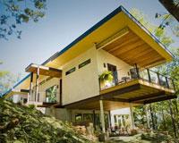 В США построили дом из конопли
