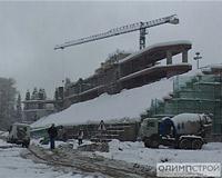 В Сочи завершается строительство биатлонного стадиона