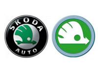 Skoda презентовала новый логотип и концепткар