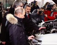 Путин назвал автомобили российской сборки классными