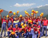 «Олимпстрой» открывает конкурс по отбору стройотрядов