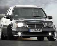 Рекорд по дрифтингу собирается установить Mercedes-Benz