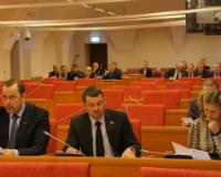 Депутаты облдумы одобрили предвыборные поправки в бюджет