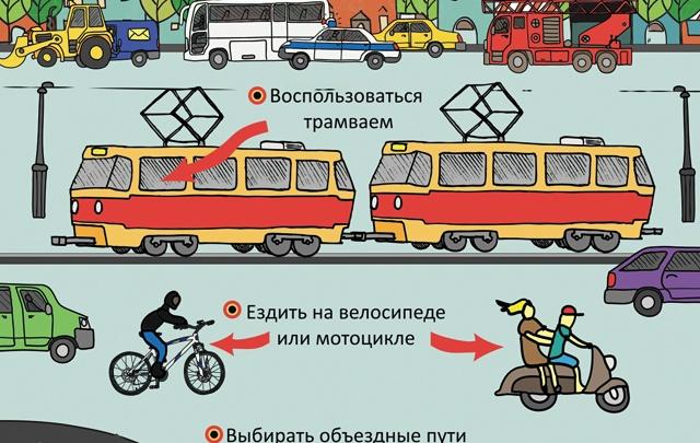 «Транспортный ад» в центре города