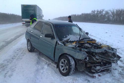 В Суровикинском районе в столкновении пострадали пять человек