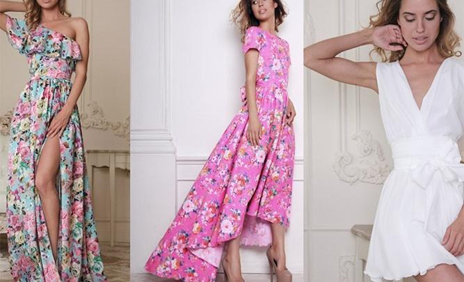 Модные платья для модных девушек