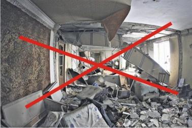 Взрывы при монтаже натяжных потолков продолжают уносить жизни