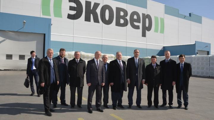 В Асбесте состоялось открытие второй линии завода по производству теплоизоляции «ЭКОВЕР»