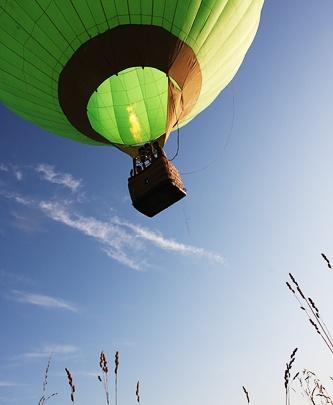 Обед на воздушном шаре