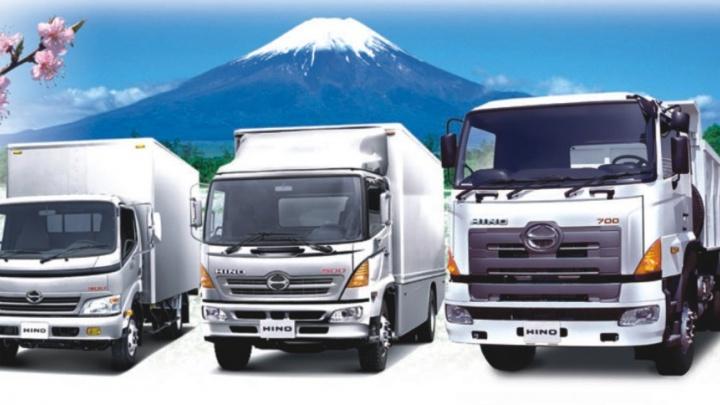 Японские грузовики «Хино» на «Сибирской ярмарке»