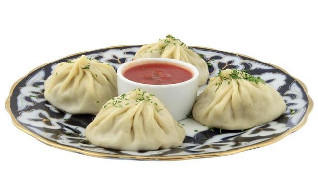 Вкуснейшие узбекские манты готовят в центре