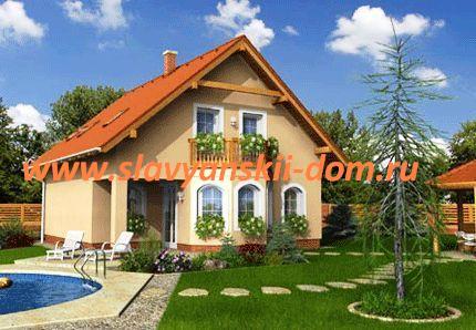 Готовый дом с участком и коммуникациями за 2 150 000 рублей