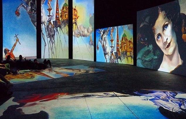 Выставка «Дали — живыеполотна» откроется 25сентября