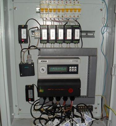 Установка приборов учета энергоресурсов от ЗАО «Инженерный центр»