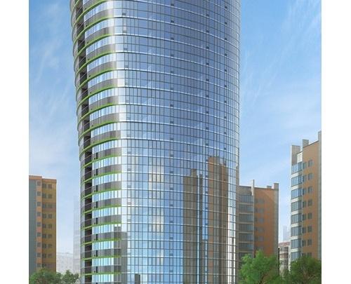 Как выглядит Новосибирск с 25-го этажа?