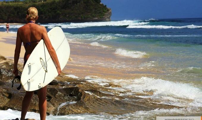 Вся мощь океана: премьера фильма о серфинге в «Победе»
