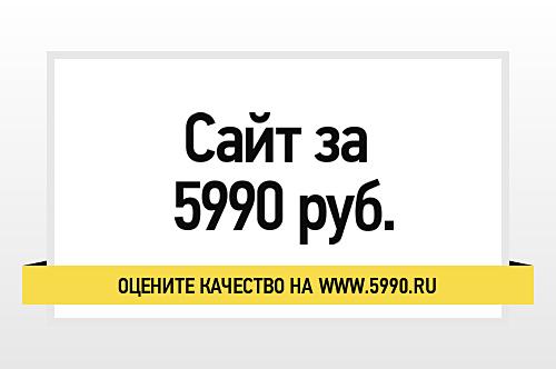 Пять вопросов о сайте за 5990 рублей